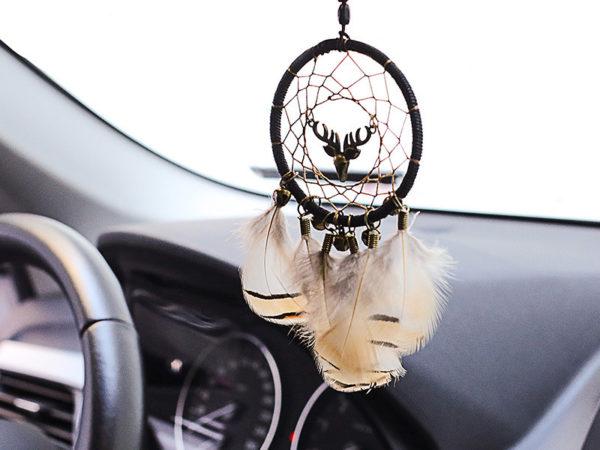 Bewith : Petit attrape-rêves amérindien pour voiture