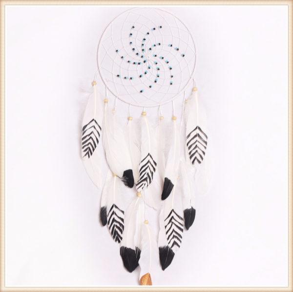 Chenoa : attrape-rêves géant blanc