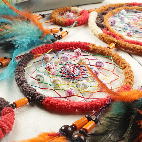 Coahoma : grand attrape-rêves 5 anneaux